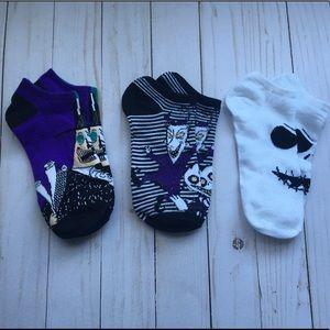 Nightmare Before Christmas Ankle Socks